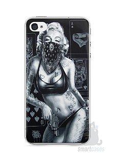 Capa Iphone 4/S Marilyn Monroe #3