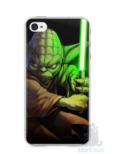 Capa Iphone 4/S Yoda Star Wars