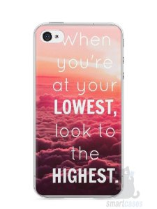 Capa Iphone 4/S Frase #1
