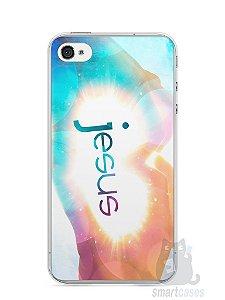 Capa Iphone 4/S Jesus #3