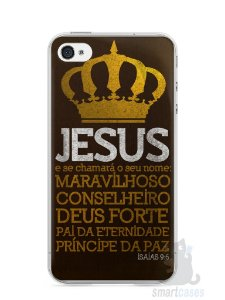 Capa Iphone 4/S Jesus #4