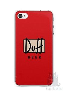 Capa Iphone 4/S Cerveja Duff