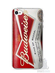 Capa Iphone 4/S Cerveja Budweiser