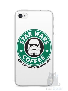 Capa Iphone 4/S Star Wars Coffee