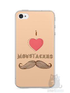 Capa Iphone 4/S I Love Bigode #2