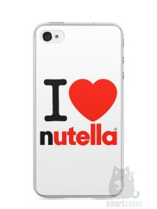 Capa Iphone 4/S I Love Nutella