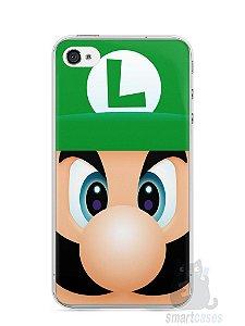 Capa Iphone 4/S Luigi Irmão do Super Mario