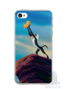 Capa Iphone 4/S Rei Leão
