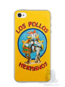 Capa Iphone 4/S Breaking Bad Los Pollos Hermanos #2