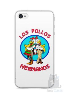 Capa Iphone 4/S Breaking Bad Los Pollos Hermanos #1