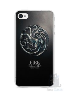 Capa Iphone 4/S Game Of Thrones Targaryen