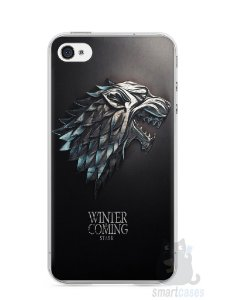 Capa Iphone 4/S Game Of Thrones Stark
