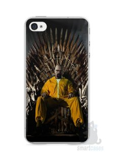 Capa Iphone 4/S Heisenberg Game Of Thrones