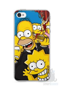Capa Iphone 4/S Família Simpsons #2