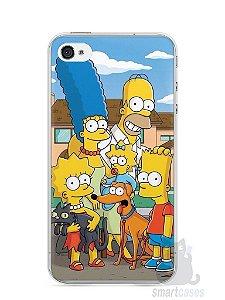 Capa Iphone 4/S Família Simpsons #1