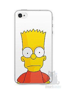 Capa Iphone 4/S Bart Simpson