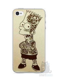 Capa Iphone 4/S Bart Simpson Tatuado