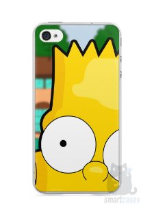 Capa Iphone 4/S Bart Simpson Face