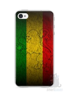 Capa Iphone 4/S Rasta Weed #1