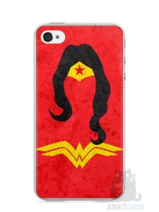 Capa Iphone 4/S Mulher Maravilha