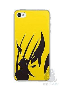 Capa Iphone 4/S Wolverine