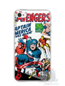 Capa Iphone 4/S The Avengers