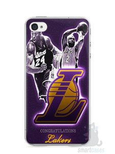 Capa Iphone 4/S Lakers
