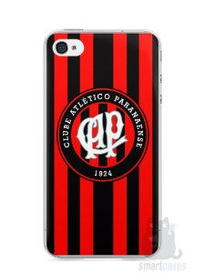Capa Iphone 4/S Time Atlético Paranaense