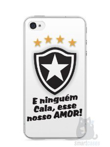 Capa Iphone 4/S Time Botafogo #2
