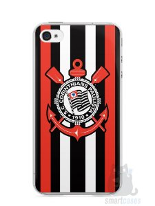 Capa Iphone 4/S Time Corinthians #4