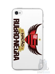 Capa Iphone 4/S Time Flamengo #3