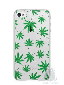 Capa Iphone 4/S Maconha #1