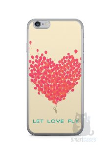 Capa Iphone 6/S Deixe o Amor Voar