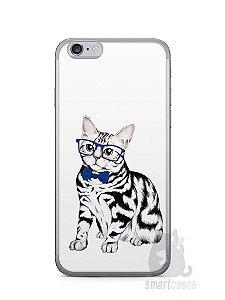 Capa Iphone 6/S Gato Estiloso