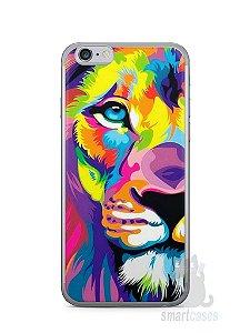 Capa Iphone 6/S Leão Colorido #1