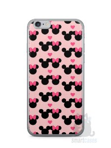 Capa Iphone 6/S Mickey e Minnie