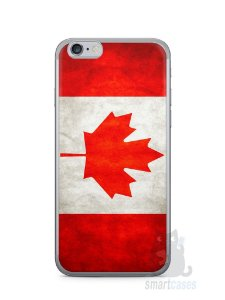 Capa Iphone 6/S Bandeira do Canadá
