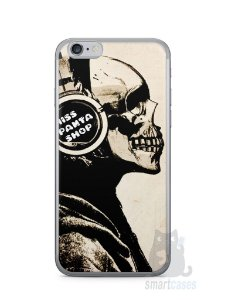 Capa Iphone 6/S Caveira Music