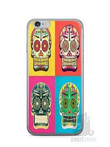 Capa Iphone 6/S Caveiras Coloridas