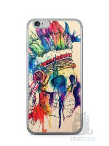 Capa Iphone 6/S Caveira Indiana