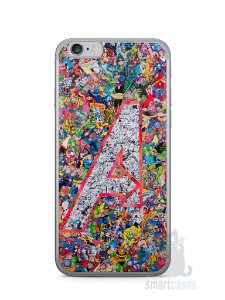Capa Iphone 6/S The Avengers Comic Books