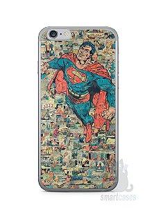 Capa Iphone 6/S Super Homem Comic Books