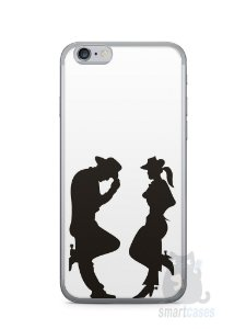 Capa Iphone 6/S Cowboy e Cowgirl