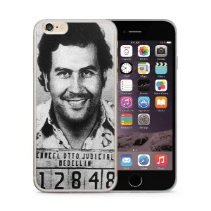 Capa Capinha Apple Iphone 6 6S Pablo Escobar