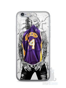Capa Iphone 6/S Marilyn Monroe Lakers