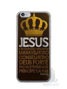 Capa Iphone 6/S Jesus #4