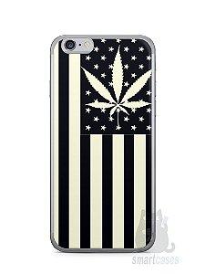 Capa Iphone 6/S Maconha Bandeira EUA