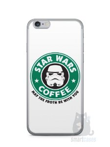 Capa Iphone 6/S Star Wars Coffee