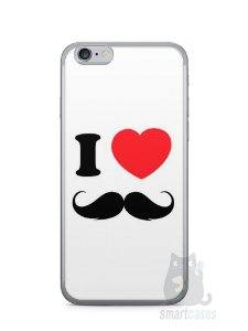Capa Iphone 6/S I Love Bigode #1