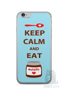 Capa Iphone 6/S Keep Calm and Eat Nutella